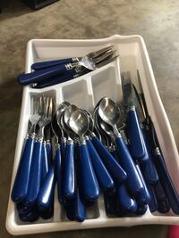 stainless steel spoon and fork set Burnsville, 55337