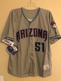 Diamondbacks Randy Johnson Jersey XL Peoria, 85382