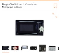 black and gray microwave oven screenshot Downey, 90241