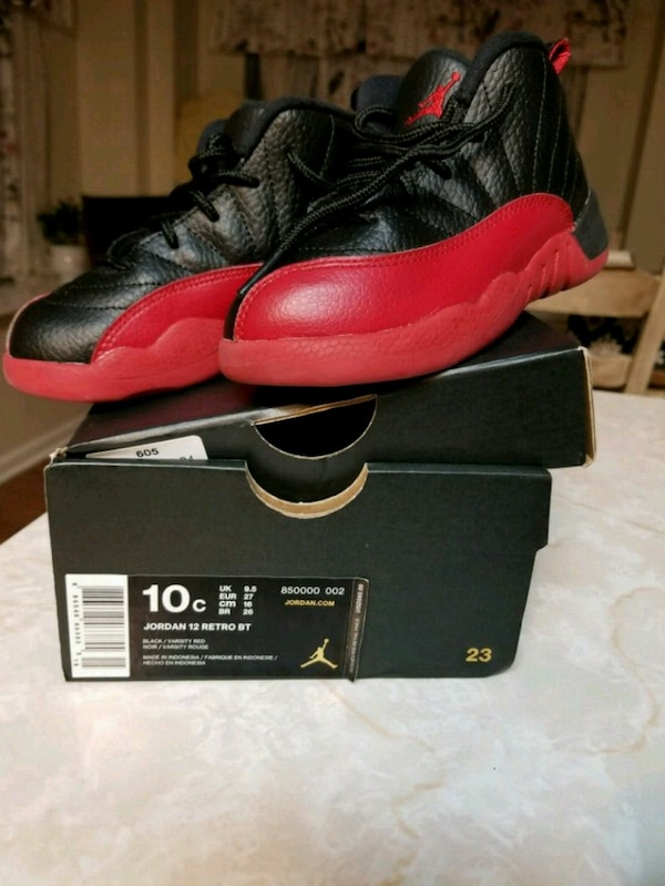wholesale dealer 7e1e0 536d2 Used pair of Flu Game Air Jordan 12 shoes with box for sale in Houston