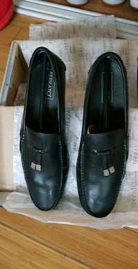 Ferrato Black Leather Loafer