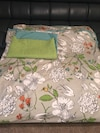 Pretty Queen Size Duvet Cover with 2 Pillow Shams