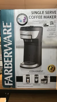 Farberware Single Serve Coffee maker box Clarksville, 37042