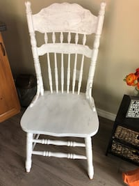 Two wooden chairs with free delivery  London, N5Y 4A6