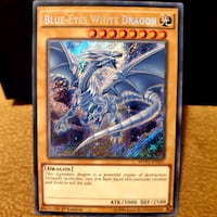 YUGİOH Blue Eyes Secret Rare YU-Gİ-OH