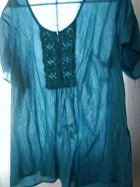 blue and black scoop-neck shirt Las Cruces, 88012