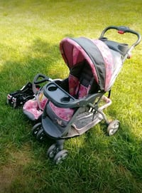 STROLLER AND BABY SEAT..