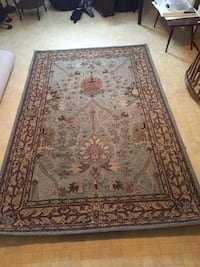 brown and black floral area rug Fredericton, E3B