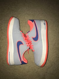 Grey,pink and blue Air Force 1s Pickering