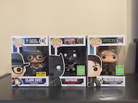 DC Clark Kent Batman Malcolm Merlyn Funko Pop Richmond Hill, L4C