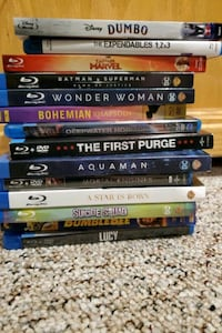 Blu-ray movies Sauk Rapids, 56379