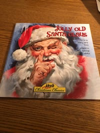 Book called Jolly Old Santa Claus by Mary Jane Tonn Hudson, 01749