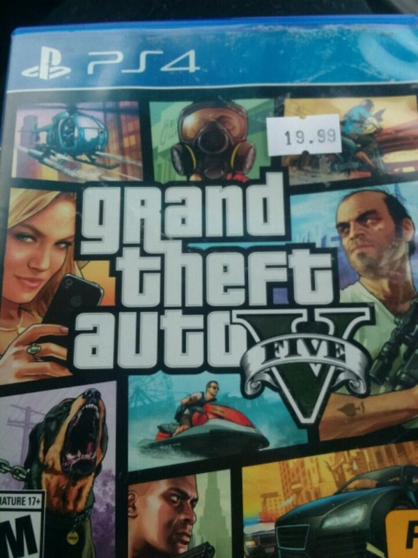 9fce5334d33 Used Grand Theft Auto 5 PS4 game case for sale in Sioux Falls - letgo