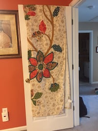 Set of 2- Pier One Vinita Floral 84 inch Curtains *Originally $80 per panel* Monroe Township, 08831