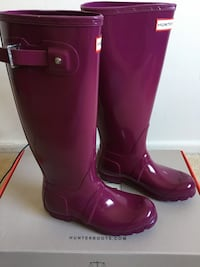 pair of pink rain boots Rockville
