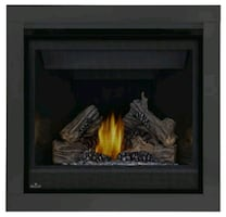 Gas fireplace by Napoleon