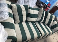 cafe du monde style sofa couch.  New Orleans, 70114