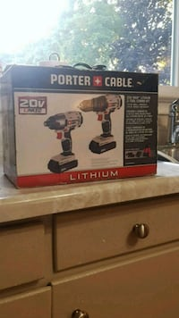 Porter cable drill set brand new never been used Hamilton, L0R 1K0