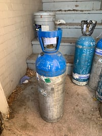 20 lbs Carbon dioxide tanks Quincy, 02169