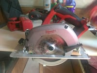 gray and red Milwaukee circular saw Los Angeles, 90003