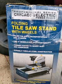 Pro Series Power Saw Stand - new, perfect for tile saw