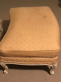 Beautiful Queen Anne Chair & Ottoman