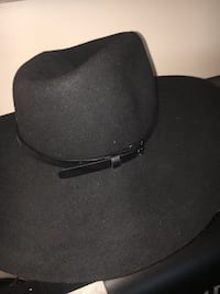 Black or Black Felt Hat with Leather Band or best offer Virginia Beach, 23451