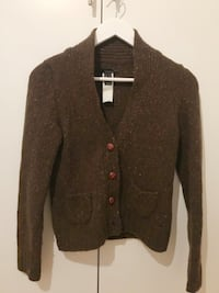 Brown knitted sweater size S Stockholm, 117 29