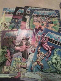 master of the universe comic books