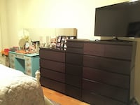brown wooden dresser and flat screen monitor Alexandria, 22305