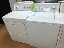 Kenmore white washer and dryer set