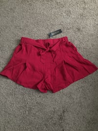 Brand new red shorts