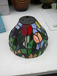 black stained glass lamp shade Oceanside, 92056