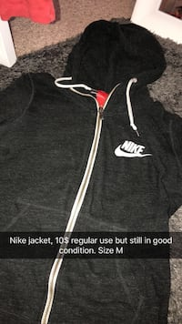 black and white zip-up hoodie Junction City, 66441