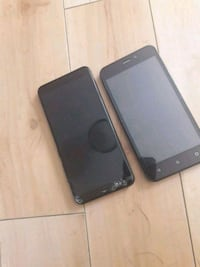 black Android smartphone with case Edmonton, T6X 0R1