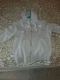 gray and white zip-up hoodie North Providence, 02904