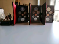 1970s Vintage Mint Proof Sets w/ Boxes and COA  Calgary, T2R 0Y1