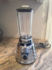 Vintage Blender Chrome Osterizer Deluxe 403 Mcm 2-Speed Bee Hive Works! Richmond