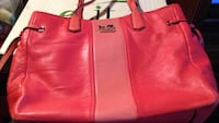 women's pink leather tote bag 2275 mi
