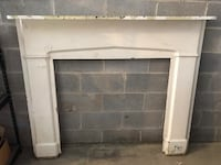 1850s Antique Fireplace Mantel McLean, 22101