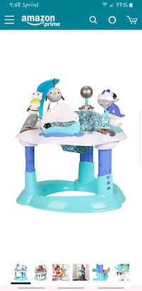 Evenflo exersaucer and bouncer