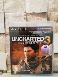 UNCHARTED 3 GAME OF THE YEAR EDİTİON PS3 OYUN  Saray Mahallesi, 07400