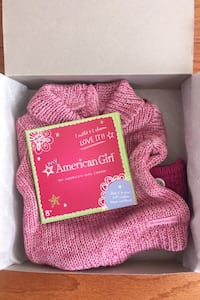 American Girl Cozy Sweater Outfit NEW Herndon, 20171