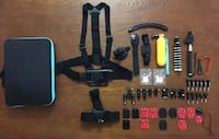 Bundle of Mounts & Accessories w/ Carry Case for GoPro HERO Cameras  Honolulu, 96815