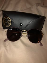 Black ray-ban aviator sunglasses with case Hamilton, L0R 7P6