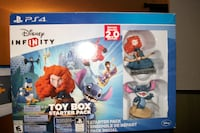 Disney Infinity Toy Box Starter Box edition 2.0 for PS4