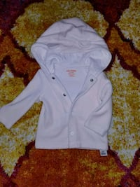 women's white button-up jacket Vancouver, V5R 3M2
