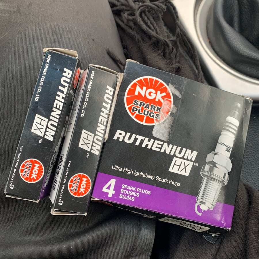 x6 NGK Ruthenium Spark Plugs