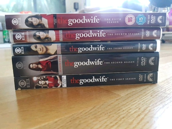 The good wife sesong 1-5