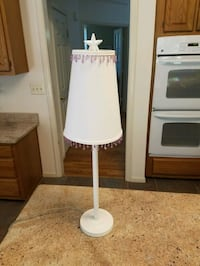 White Table Lamp 15 mi